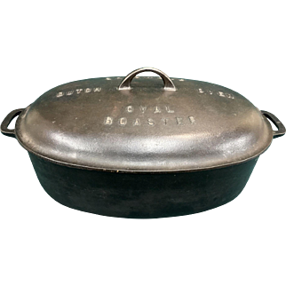 Griswold #7 Dutch Oven Oval Roaster