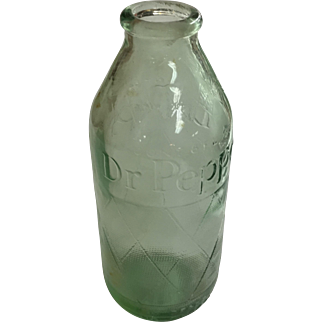Vintage Dr. Pepper Bottle 6 oz. Grenade Style