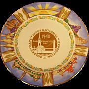 1940 San Francisco Golden Gate Expo Plate