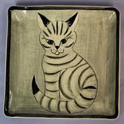 Hedi Schoop Original Cat Plaque Plate No. 21