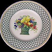 Villeroy & Boch Basket Pattern Dinner Plate