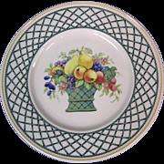 Villeroy & Boch Basket Pattern Salad Plate