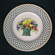 Villeroy & Boch Basket Pattern Chop Plate / Platter