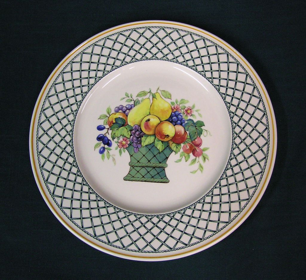 Villeroy boch basket pattern chop plate platter from - Boch and villeroy ...