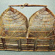 Victorian Era, Metal Hanging Double Bird Cage