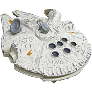 Original 1979 Star Wars Die Cast Millennium Falcon by Kenner