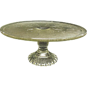 Harp Cake Stand by Jeannette Glass Company 1954 - 1957