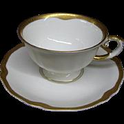 "Set of 4 Franconia/Krautheim Bavaria/Germany ""Jewel"" Cups & Saucers"