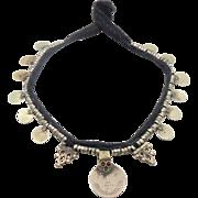 Coin Necklace, Kuchi Necklace, Afghan Jewelry, Vintage Necklace, Gypsy Jewelry, Banjar, Turkmen, Boho Statement, Bohemian, Ethnic Tribal