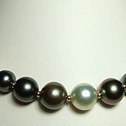 Multi-Colour Tahitian And South Sea Pearl Necklace