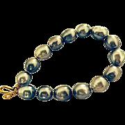 Baroque Tahitian Cultured Pearls & 18 Carat Gold Bracelet