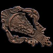 """Vintage Spanish """"El Rocío"""" Marian Brotherhood Medal – Priego de Cordoba"""