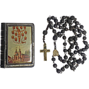 Rare Pilgrimage Rosary & Case – Eucharistic Miracle of Walldürn, Germany