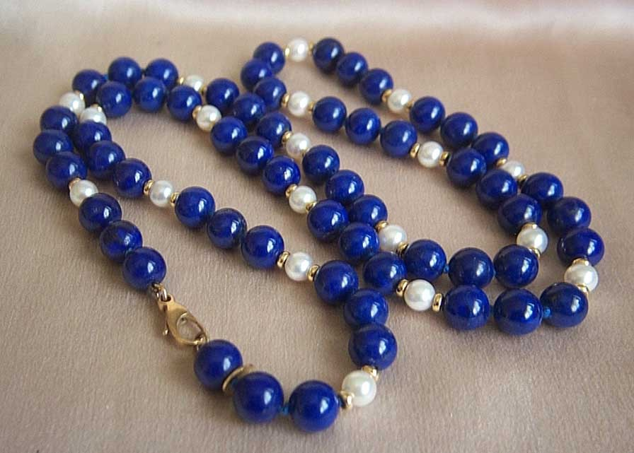 lazuli bead clasp rows of round product products blue natural image stones with necklace big lapis