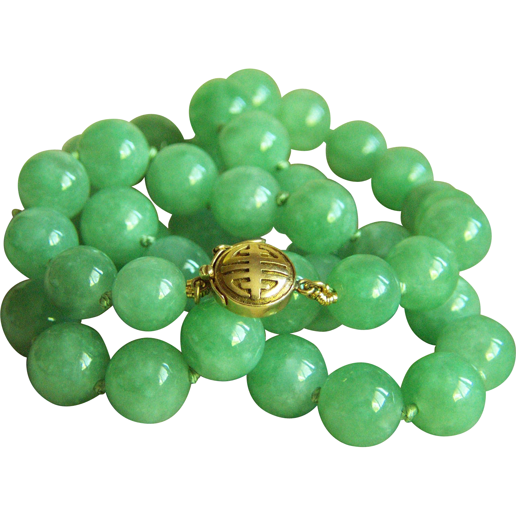 with jade hand yi unique ru carved green img amulet knotted necklace tiger cord