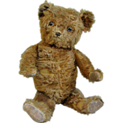"21"" Mohair Jointed Humpback Teddy Bear - Great Expression"