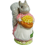 Beswick Beatrix Potter Goody Tiptoes BP2 Oval Mark W/  Original Foil Label