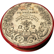 Wonderful French Theater Rouge Container - Dorin Paris