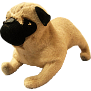 Poor Old Pugsley - Large Stuffed Toy Pug Needs Home