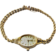 Ladies' 14KT Beverly Hills Gold Watch W/ Original Box