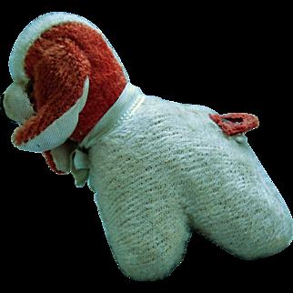 Tiny Plush Figural Dog Tape Measure Cocker Spaniel - Japan