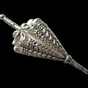 Sterling Silver Umbrella / Parasol Brooch - Lang