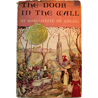 """The Door In The Wall"" Children's Book - 1950 Newbery Award Winner Marguerite De Angeli"
