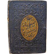 1860 Miniature Doll's Book - Poetic Fortune Telling