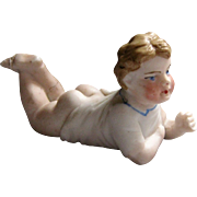 Tiny Piano Baby - Bare Bottom Boy Bisque Doll