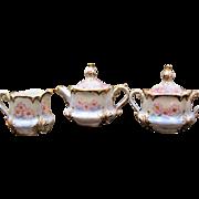 Handpainted Bavarian Tea Set - Roses - Irma