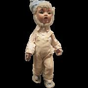 "Vintage Doll  Christmas Elf Old Store Display - 19"" Tall"