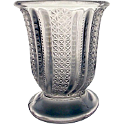 EAPG McKee Glass Feather a.k.a. Doric Spoon Holder, c, 1890's