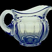 Elegant Vintage Pressed Glass One Quart Pitcher