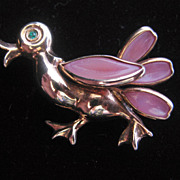 Trifari Petalettes Alfred Philippe Designed- Duck- Pin-Brooch