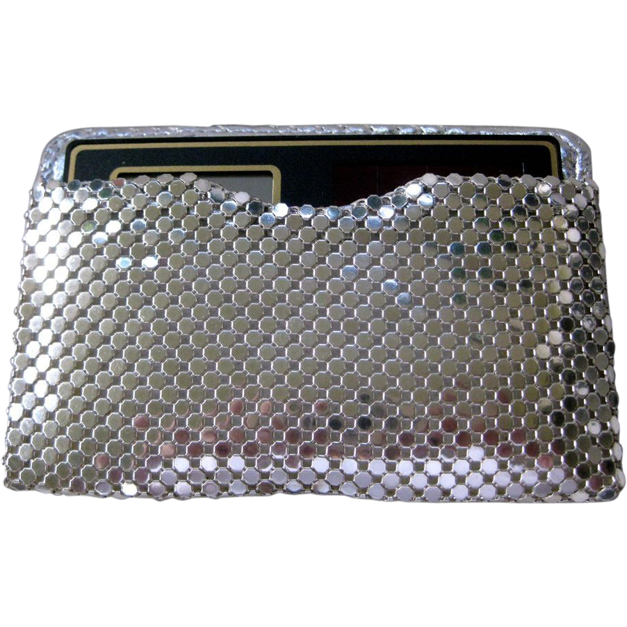 Whiting & Davis Calculator or Business Card Case