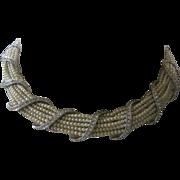 CINER Pearls & Rhinestones Vintage Necklace