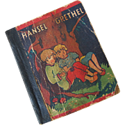 Teeny Tiny Hansel & Grethel Fairy Tale Book 1930s