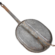 Vintage 1960s Camping Skillet Pan with Handle