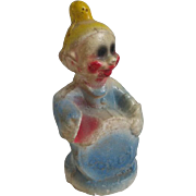 Vintage 1940s Carnival Chalkware Figurine of Dopey from Snow White