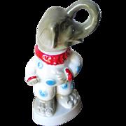 Vintage 1968 Election Year Jim Beam GOP Clown Republican Elephant Bottle Decanter