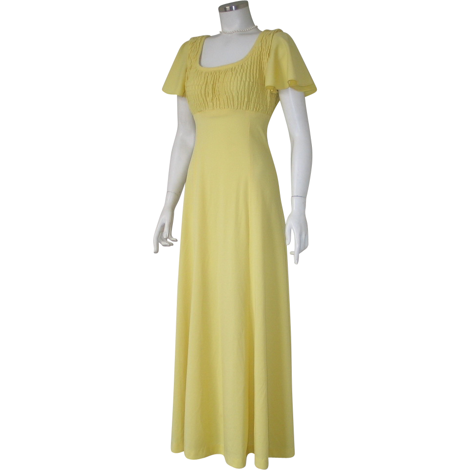 Authentic vintage 1970s american designer holt renfrew for Holt couture dresses