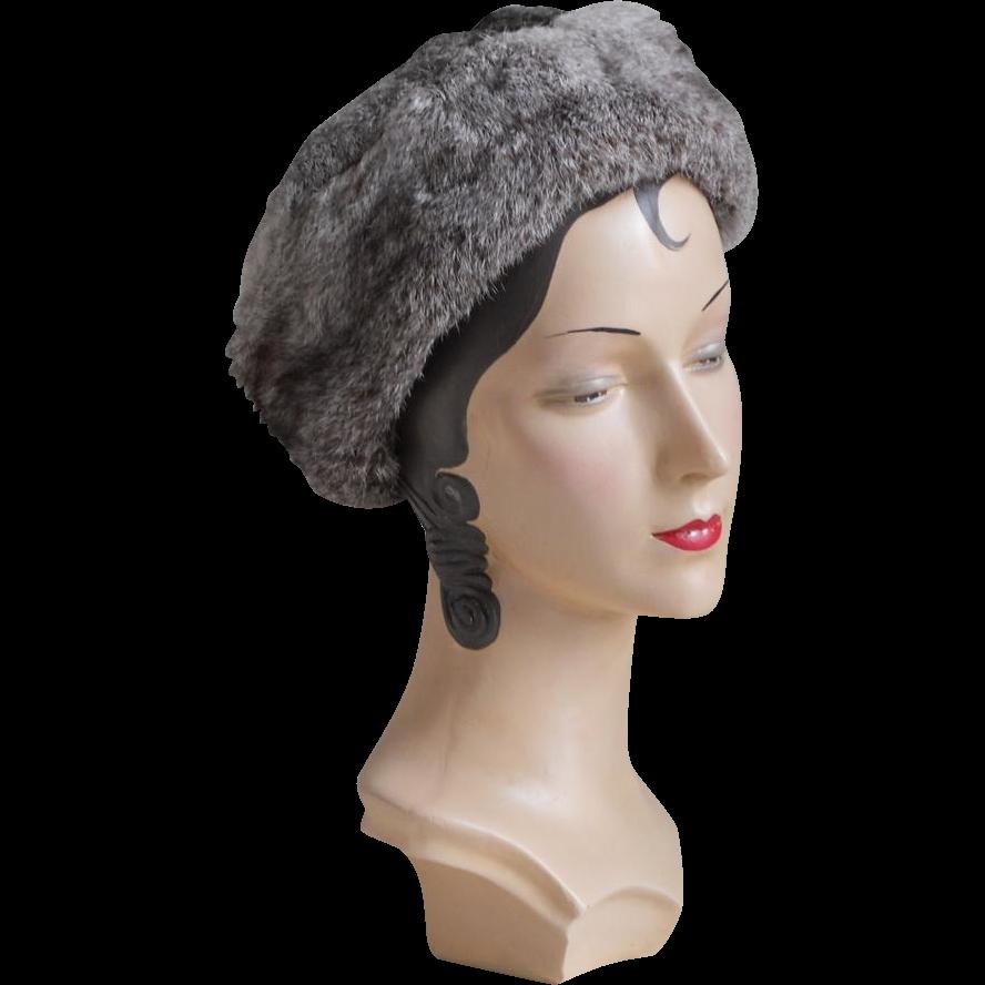 Vintage Winter Hat 90
