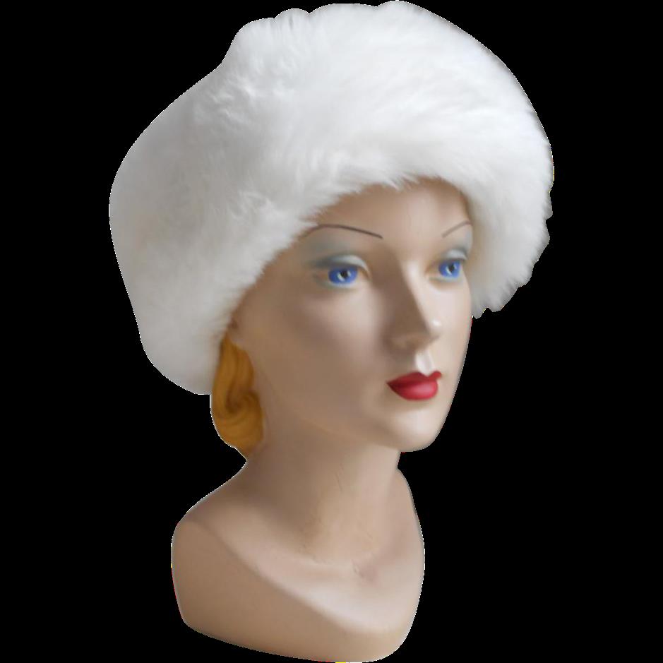 Vintage Fur Hat 50
