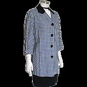 Vintage 1950s Nancy Wayne Spring Jacket Car Coat L XL