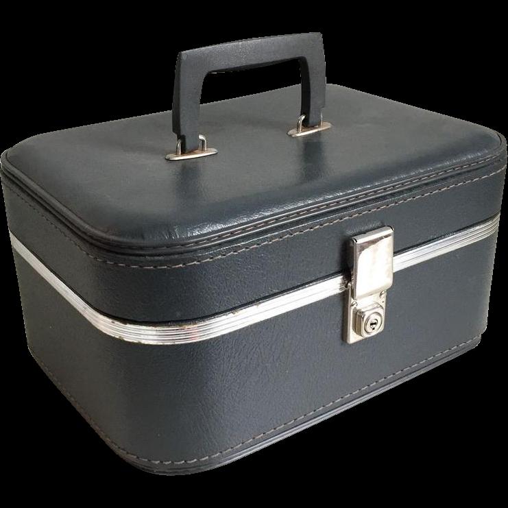 Vintage Train Luggage 86
