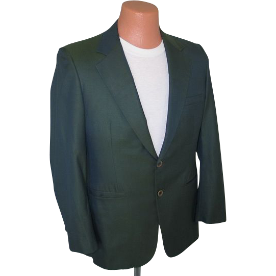Vintage 1950s 1960s VLV Sharkskin Jacket in Green Black with Griffin Shark Lining
