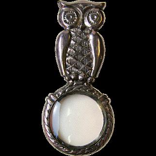 Vintage Owl Magnifying Glass