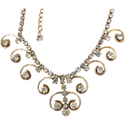 Vintage Sarah Coventry Rhinestone Necklace