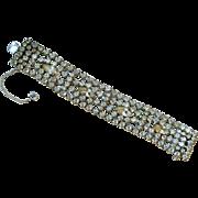 """Vintage Rhinestone Bracelet """"By Gale"""""""