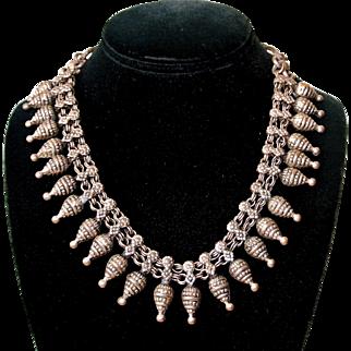 Vintage Middle Eastern Tribal Ethnic Necklace